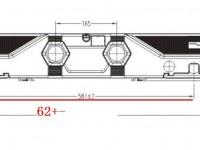 Motor central cama distancias instalación